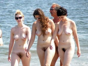 #nudism as told by two women